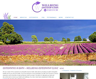 Welbeing Osteopaths Bath
