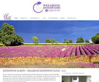 Welbeing Osteopaths Bath